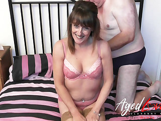 AgedLove copulation orgy intimacy around unmitigatedly hot housewife Pandora