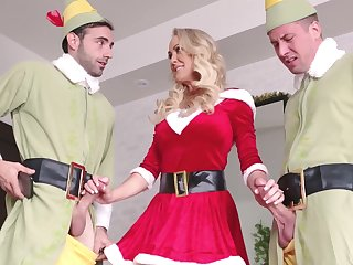Zealous together with sexy Penny Barber is good MILF who is fond of sucking cocks