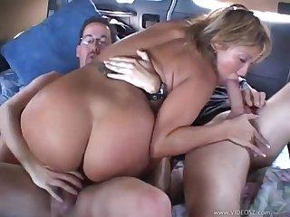 Auto Gangbang and double penetration