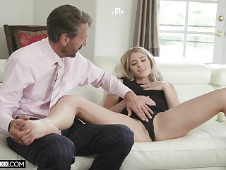 Hot vixen Nikki Peach throat fucked during excellent election