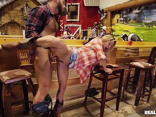 Hot MILF gets working with this man's dick like a real goddessw