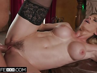 Chunky Tit Slutty Garden-variety Wife Milf Cory Woo Christmas Gift Cum On Tits - Cory Woo
