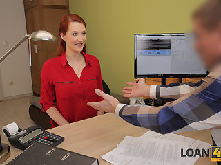 LOAN4K. Heady redhead wants a vet clinic and knows