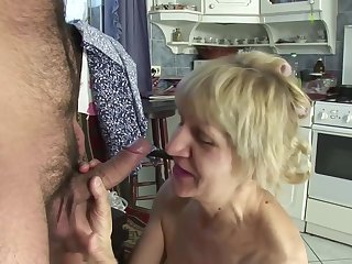 Wrinkle Granny Is A Whore... She Fucks For Money