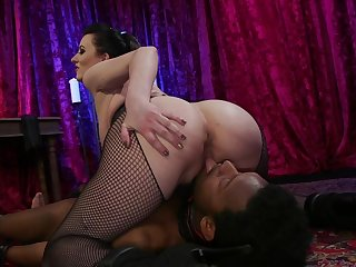 Thorough mature tries younger cock in smashing nude XXX scenes