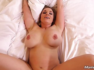 Mating With Busty Housewife -cougar POV sex